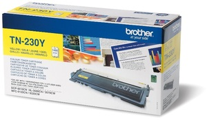 Brother Toner TN-230Y für HL-3040/HL-3070/HL-4570 yellow TN230YA1