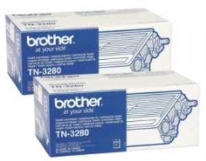 Brother TN-3280TWIN TONER SCHWARZ TN3280TWIN