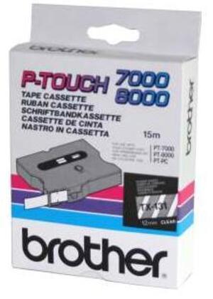 Brother Band weiss/schwarz 18mm TX241