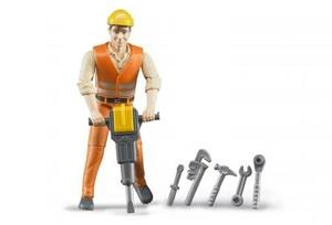 Bruder Bauarbeiter mit Zubehör 31060020