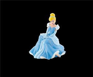 BULLYLAND Cinderella sitzend 7.5 cm PVC-Freies Material 43012830