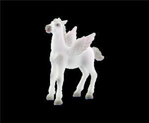 BULLYLAND Pegasus Fohlen weiss 7.5 cm PVC-Freies Material 43075658
