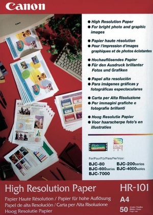 Canon HR-101N Papier/A4/50Bl/BJC2xx/600/ 1033A002