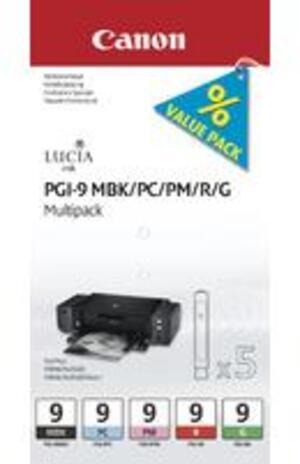 Canon PGI-9 MBK/PC/PM/R/G Multi Pack 1033B011