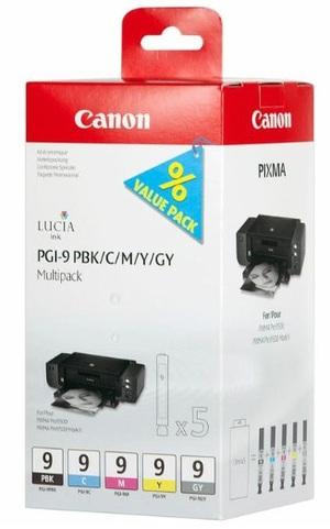 Canon PGI-9 PBK/C/M/Y/GY Multi Pack 1034B011