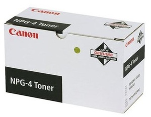 Canon NPG-4 Tonerkartusche schwarz Standardkapazität 15.000 Seiten 1er-Pack 1375A002AA