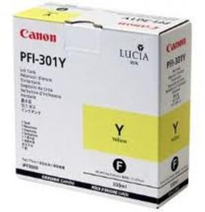 Canon Ink Cartridge PFI-301Y PFI-301Y
