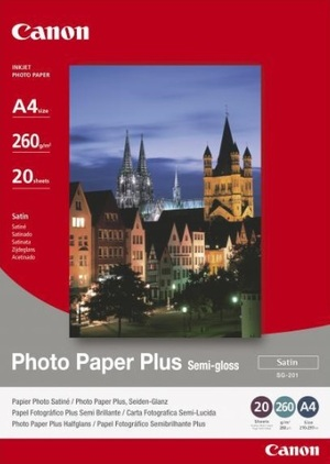 Canon SG-201 PHOTO PAPER SEMI GLOSS 1686B021