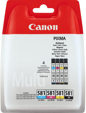 Canon INK CLI-581 C/M/Y/BK MULTI BL SEC 2103C005