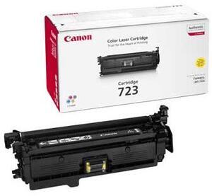 Canon Toner 723 Yellow for i-SENSYS LBP7750Cdn 2641B002