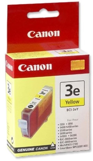 Canon Ink Cartridge BCI-3Y 4482A002