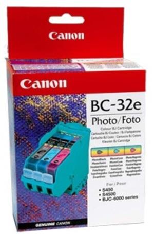 Canon Canon 4610A002 Foto Druckkopf & TPA, BC32E, schwarz-farbig 4610A002
