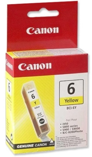 Canon Ink Cartridge BCI-6Y 4708A002