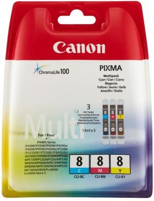 Canon CLI-8 C/M/Y MULTI PACK SEC 621B036