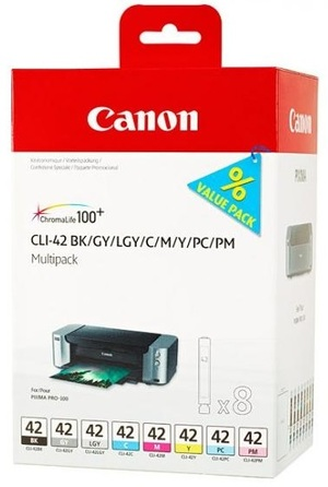 Canon CLI-42 8INKS MULTI PACK 6384B010