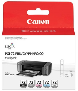 Canon Ink Cart PGI-72 PBK/GY/PM/PC/COMulti Pck 6403B007
