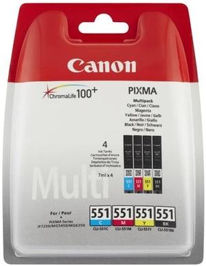 Canon CLI-551 C/M/Y/BK MULTI PACK 6509B008