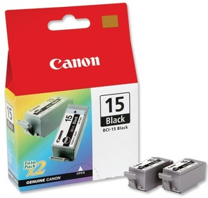 Canon Ink Cartridge BCI-15BK 8190A002