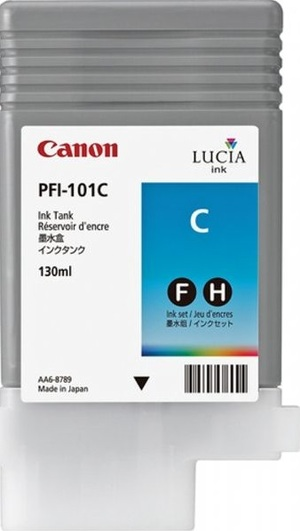 Canon Ink Cartridge PFI-101C 884B001