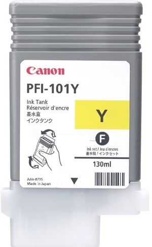 Canon Ink Cartridge PFI-101Y 886B001
