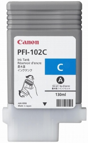 Canon Ink Cartridge PFI-102C 896B001