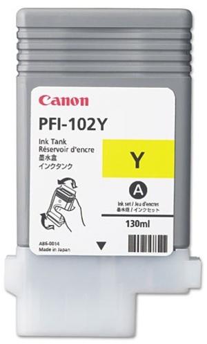 Canon Ink Cartridge PFI-102Y 898B001