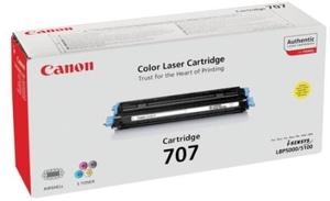 Canon Toner 707, yellow 9421A004