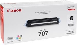 Canon Canon Toner 707, black 9424A004