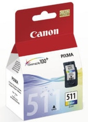 Canon CL-511 Colour Ink Cartridge 2972B001