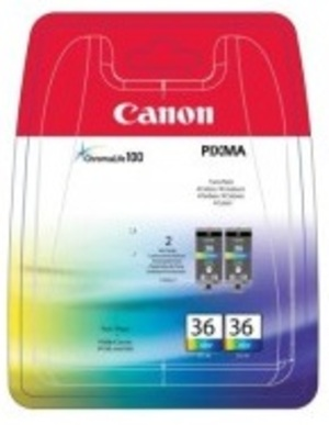 Canon CLI-36 Colour Ink Value Twin Pack CLI-36TWIN