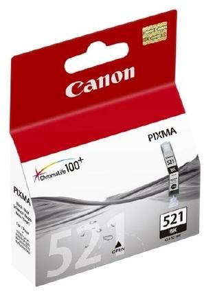 Canon Tintenpatrone schwarz CLI-521BK