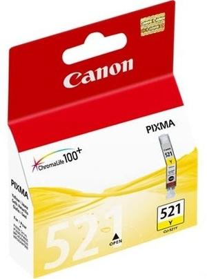 Canon Tintenpatrone yellow CLI-521Y