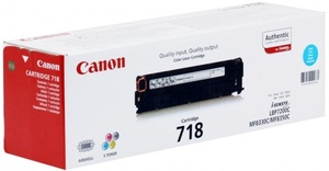 Canon Toner 718 Cyan CRG718C