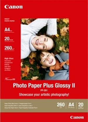 Canon PP-201 PHOTO PAPER PLUS II PP-201A4