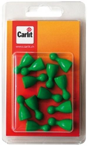 Carlit Halmakegel Holz, grün 12 Stück Carlit 60590305