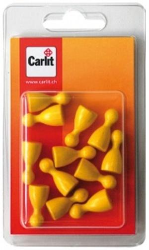 Carlit Halmakegel Holz, gelb 12 Stück Carlit 60590306