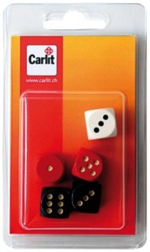 Carlit Würfel Holz, 16 mm assortiert, 5 Stück Carlit 60590309