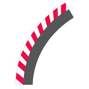 Carrera 1:24 Randstreifen - Kurve 1/60° 42200561