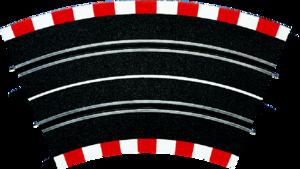 Carrera Profi KURVE 2/45°, 4 STUECK 71502