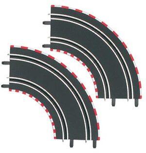 Carrera GO! Kurve 1/90°, 2 Stück 61603
