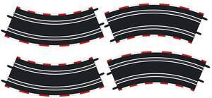 Carrera GO! Kurve 3/45°, 4 Stück 61645