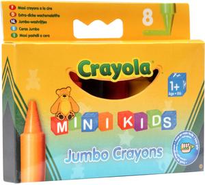 Crayola 8 Jumbo Wachsmalstifte (12) 2845293