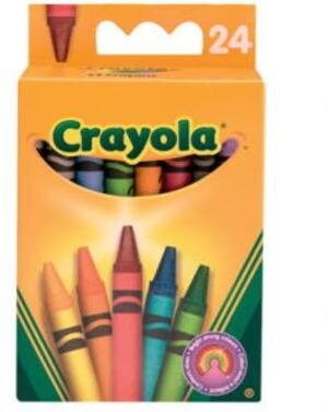 Crayola 24 Wachsmalstifte (12) 2845292