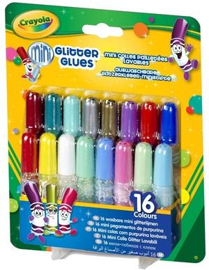 Crayola 16 Glitzer Klebestifte (6) 6942