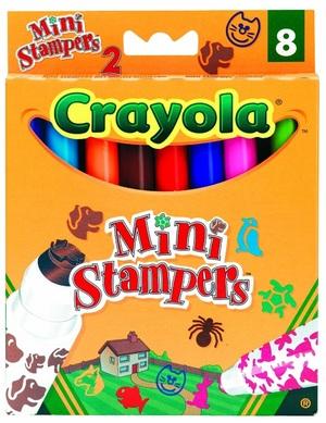 Crayola 8 Mini Stempel Tiere (12) 8125A2