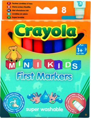 Crayola 8 Erste Filzstifte (6) 8324