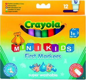 Crayola 12 Erste Filzstifte (6) 368325
