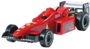 Darda Motor Darda Auto F1 rot 9.5 cm, mit Rückzugmotor, passend zu allen Dardabahnen 31950304