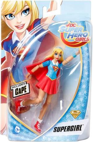 DC SuperHero Girls DCSHG Supergirl Aktions-Figur DMM34