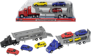 Dickie Spielzeug Autotransporter, 3-sort. 203746000